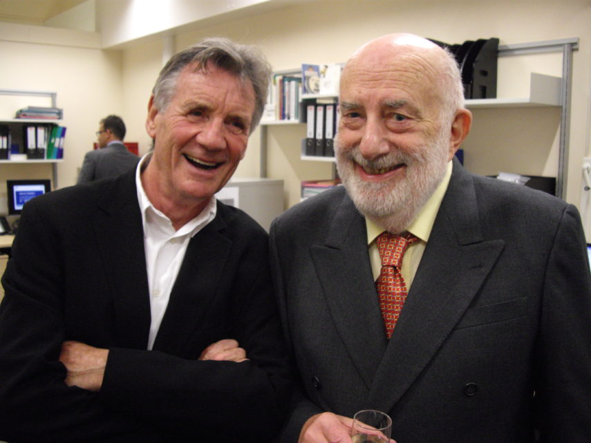 Michael Palin and Travers Reid